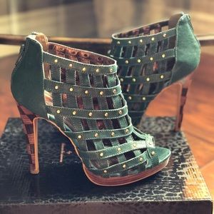 Baby Phat caged heels